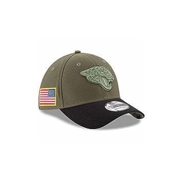 7f6fd6831 New Era Jacksonville Jaguars 2017 Salute to Service 39THIRTY Flex Hat ?  Olive