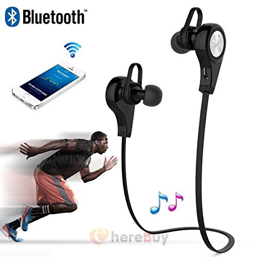 Stereo Wireless Headset Bluetooth Headphone Earphone for iPhone Samsung HTC (Htc Cell Phone Reviews)