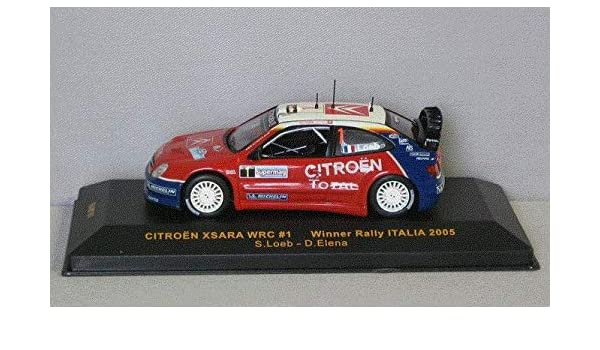 CITROEN XSARA WRC RALLY MCARLO LOEB-ELENA SCALA 1\43