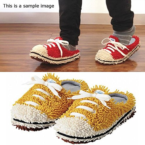 Style En Microfibre Unisexe Mop Comolife Couleur Sneaker Chaussons qCEx4