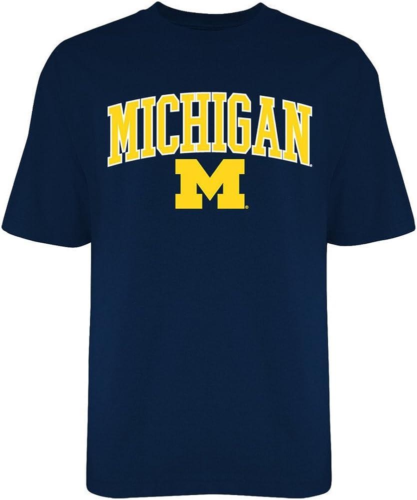 2XL Elite Fan Shop Michigan Wolverines Locker Room T Shirt Varsity Navy