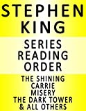 stephen king series reading order series list in order the shiniing carrie misery the dark tower all others