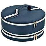Picnic at Ascot Pie and Cake Carrier 12'' Diameter -