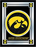 Holland Bar Stool Company NCAA Iowa Hawkeyes Logo Mirror, 17 X 22-Inch