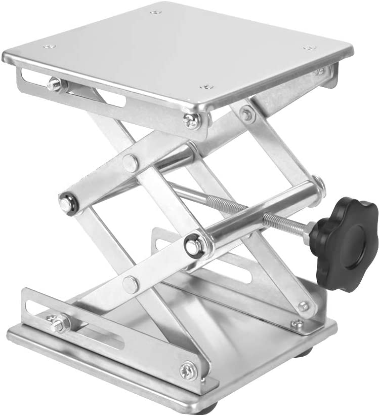 Scissor Lift Jack Lift Table for instrument for Laboratory Lab Stand Stainless Steel Laboratory Jack Lift Lab Jack