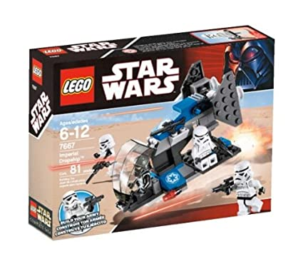 Amazoncom Lego Star Wars Imperial Dropship 7667 Toys Games