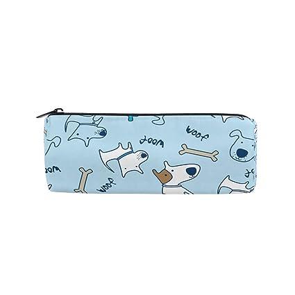 Bonipe - Estuche con diseño de dibujos animados de perro, con ...