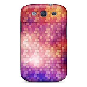 High Quality Shock Absorbing Cases For Galaxy S3-digital Background