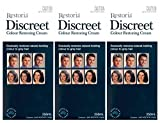 3 BOXES of Restoria Discreet Colour Restoring Cream 250ml For Sale