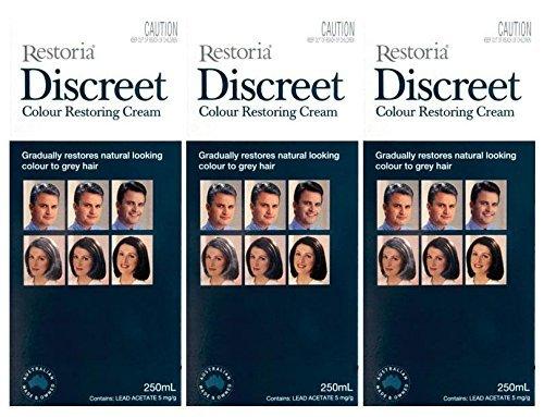 3-boxes-of-restoria-discreet-colour-restoring-cream-250ml