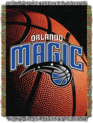 Blankets Photo Woven (The Northwest Company Officially Licensed NBA Orlando Magic Photo Real Woven Tapestry Throw Blanket, 48