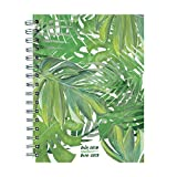 #7: TF Publishing 19-9220A July 2018 - June 2019 Leaves Medium Weekly Monthly Planner, 6.5 x 8