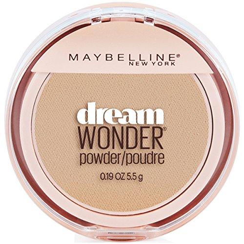 Maybelline New York Dream Wonder Powder Makeup, Sandy Beige, 0.19 oz.