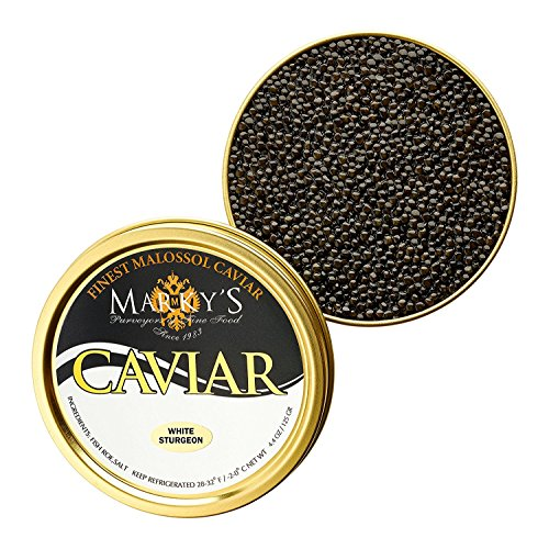 Farmed California Osetra Caviar White Sturgeon - 0.5 - Sturgeon Caviar Wild