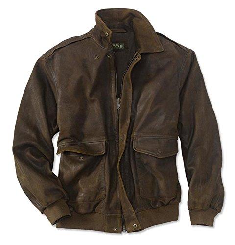 Orvis Thunderbird Flight Jacket, Brown, Medium