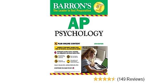 Amazon com: Barron's AP Psychology with Online Tests eBook