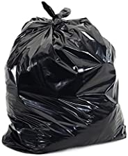 "Trash Can Liners, CoEx Series, 40-45 Gallon, 40"" Width x 47"" Length, Heavy Gauge, Black/Grey (Pa"