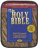 KJV NT Scourby Audio Cassette Bag- King James Version New Testament Audio Cassette Bible by Alexander Scourby, Cassette Audio Book