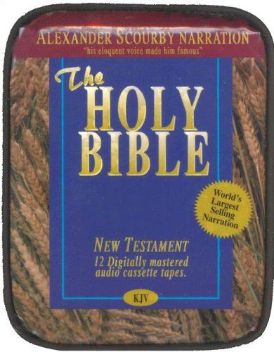 KJV NT Scourby Audio Cassette Bag- King James Version New Testament Audio Cassette Bible by Alexander Scourby, Cassette Audio Book by Brand: Cassette Communications, Inc.