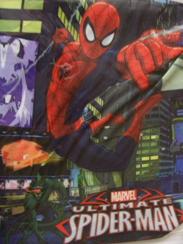Web Of Spider Man Covers (Marvel Ultimate Spiderman Stretchable Fabric Book Cover ~ Web-slinging Superhero! (Fits Books Larger than 10