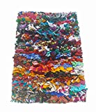 Chardin home Rainbow Shag Rug, 20' x 30', Multi-Colored