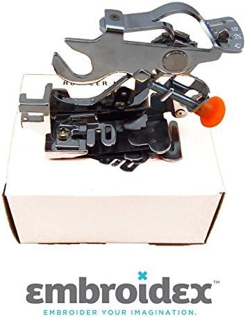 Embroidex Ruffler máquina de coser pie para bajo vástago: Amazon ...