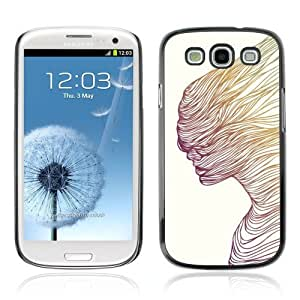 Designer Depo Hard Protection Case for Samsung Galaxy S3 / Cool Abstract Art