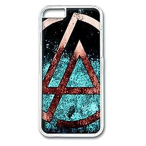 iCustomonline Linkin Park Designed iPhone 6 (4.7 inch) Plastic PC Transparent Hard Back Case