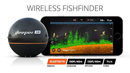 Deeper Smart Fishfinder 3 0 Ios And Android Compatible