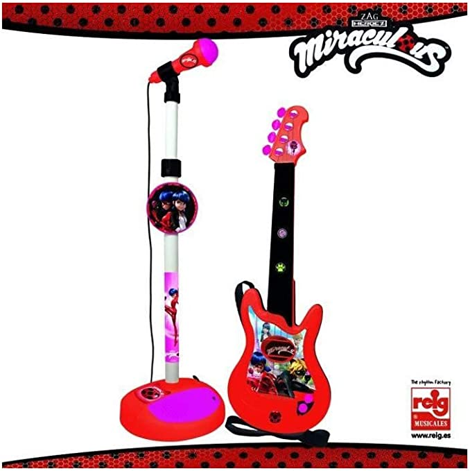Ladybug Zag Micro y Guitarra, 34 x 18 x 72 cm (Claudio Reig 2675 ...