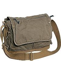 Vagabond Traveler Casual Style Canvas Messenger Bag by Vagabond Traveler