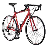 Schwinn Volare 1400 Bicicleta de Carretera, 700 c/28 Pulgadas tamaño de Rueda, Rojo, Bicicleta de Fitness, 53 cm/tamaño Mediano