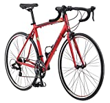 Schwinn Volare 1400 Road Bike, 700c/28 inch wheel size, red, Fitness...