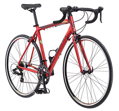 Schwinn Volare 1400 Men's Road Bicycle Matte Red  53cm/Medium Frame Size Pacific Cycle (Over-Boxed Product)