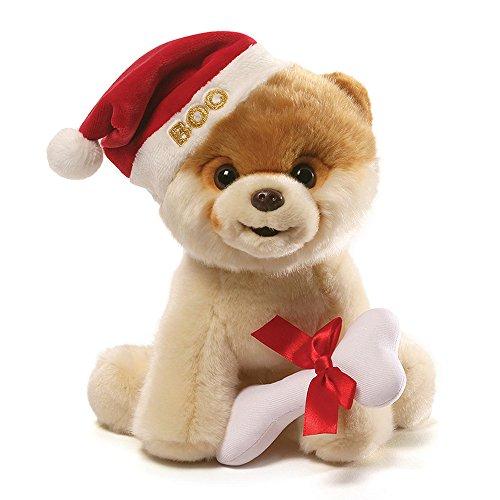 (GUND Boo Christmas Holiday Dog Stuffed Animal Plush,)