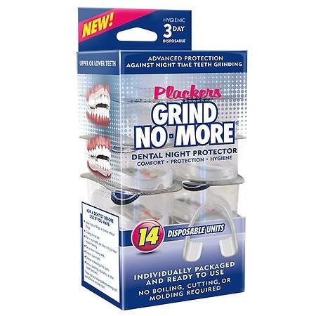 Plackers Grind No More Dental Night Protector - 3PC
