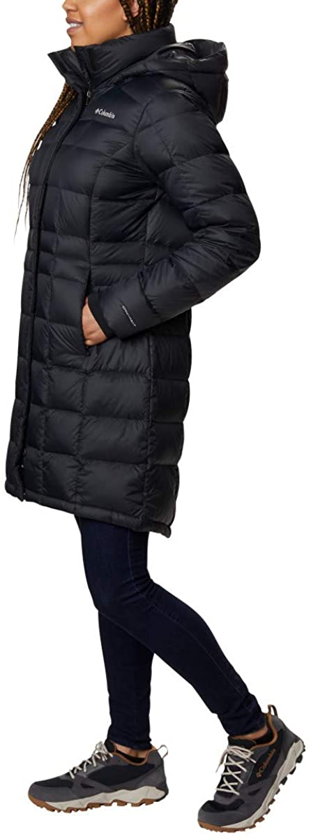 Columbia Womens Hexbreaker Long Down Jacket: Clothing