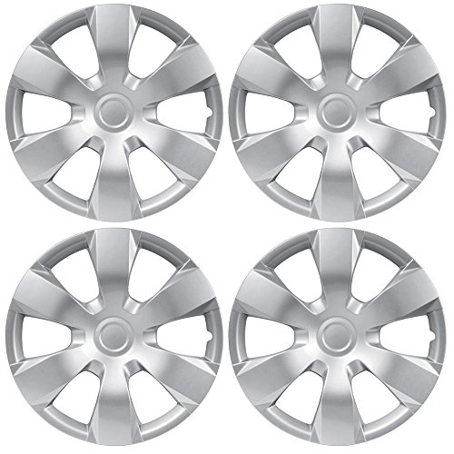 bdk-toyota-camry-style-hubcaps-cover-16-inch-silver-replica-wheel-cover-oem-factory-replacement-4-pi