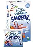 Plum Kids Organic Fruit and Veggie Shredz, Rooty Blues, 5-Count (Pack of 8)