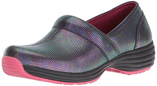 Sanita Womens O2 Life-Ease Slip-On Loafer Multi/Reptile hmQhJ7UZou