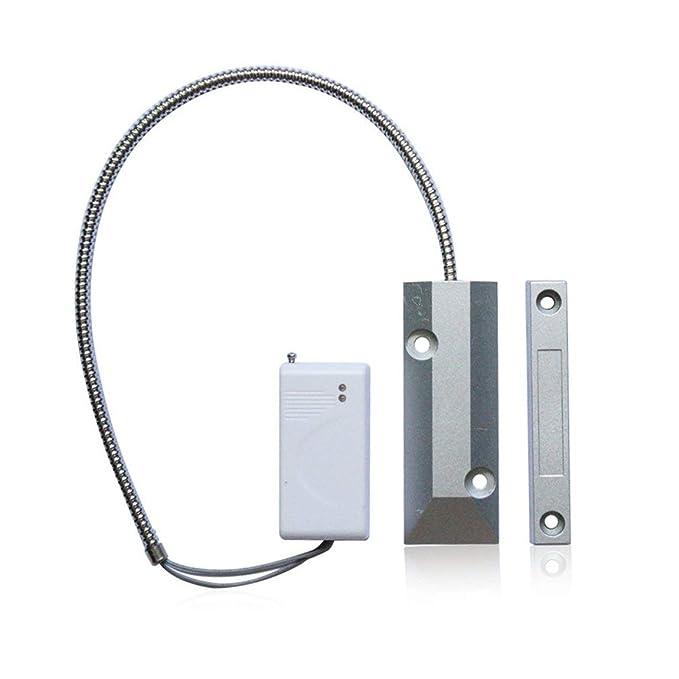 Detector de infrarrojos inalámbrico Detector de metales PIR de interior 304 Inicio Seguridad de la empresa Alarma de ladrón establecido para Rolling Gate: ...