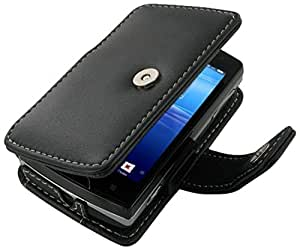 3BSEMPF41 - Funda PDair Book Type Negra Sony Ericsson Xperia Mini Pro