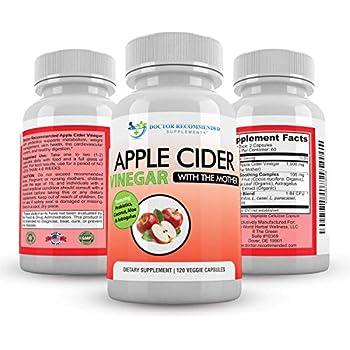 Amazon.com: Apple Cider Vinegar Capsules - 100% Organic