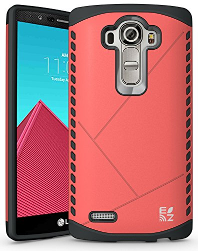 ECOZ [SHIELDX LITE] Slim Protective Dual Layer Armor Case Cover for LG G4 - Case Protective Ezgear