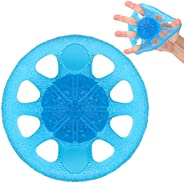 MoKo Grip Exerciser Ball, Finger Exerciser & Hand Strengthener, Squeeze and Flex Training for Thera-Band S