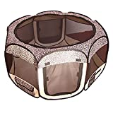 BestPet Leopard Skin Pet Tent Exercise Pen Playpen Dog Crate XS Review