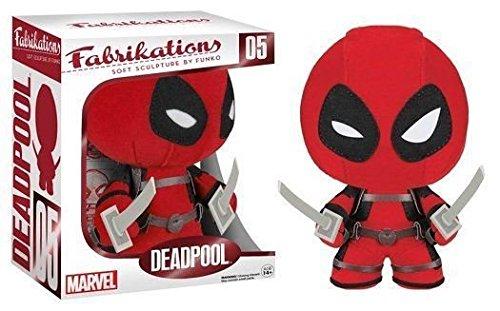 """Funko Fabrikations Marvel: Deadpool - Soft Sculpture 6"""" Plush Figurine NEW /item# G4W8B-48Q34810"""