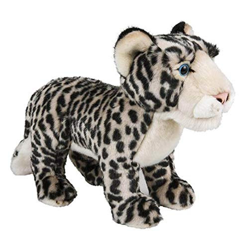"Wildlife Tree Standing 12"" Stuffed Snow Leopard Plush Floppy Animal Kingdom Collection"
