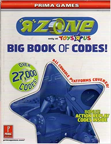 Big Book Of Codes R Zone Only At Toys R Us Over 27 000