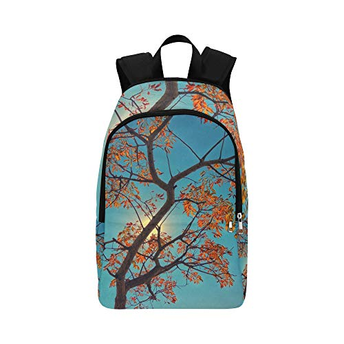 XINGCHENSS Tree Autumn South Africa Johannesburg Foliage Park Casual Daypack Travel Bag College School Backpack Mens Women